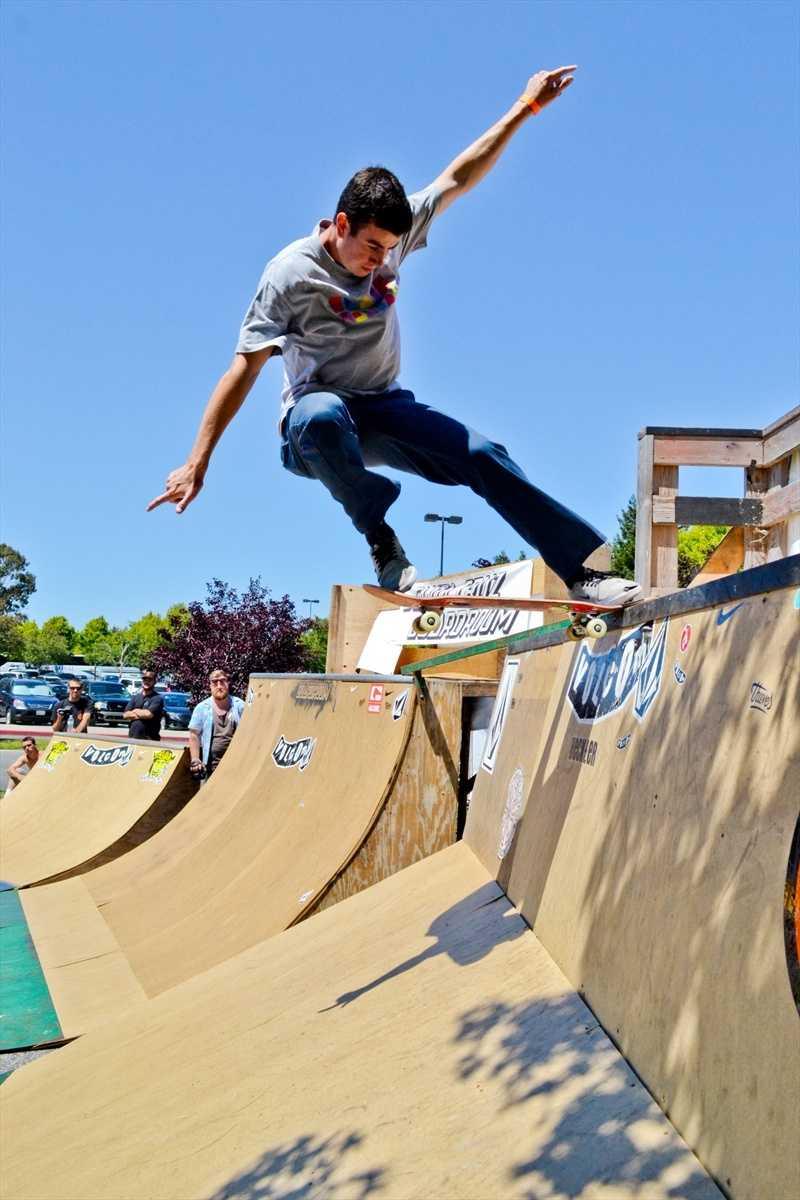TheSanta Cruz Boardroom is a popular local skate shop on Pleasure Point near Capitola.(July 21, 2012 / Photo by Chris Elmenhurst)