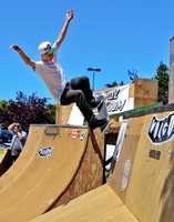The 4th-annual contest raised money for building a skate park in Capitola.(July 21, 2012 / Photo by Chris Elmenhurst)