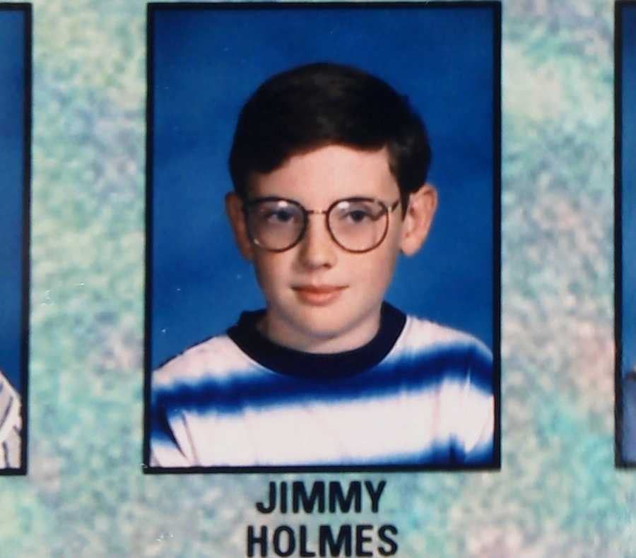 Holmes spent his childhood on the Central Coast. He went to Castroville Elementary SchoolandGambetta Middle School in Castrovillein the 1990s.