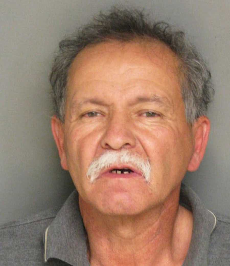 Manuel Valdez, 58, of Salinas, was drunk when he attempted to run over his wife with a car outside their home on Rico Street, police said.