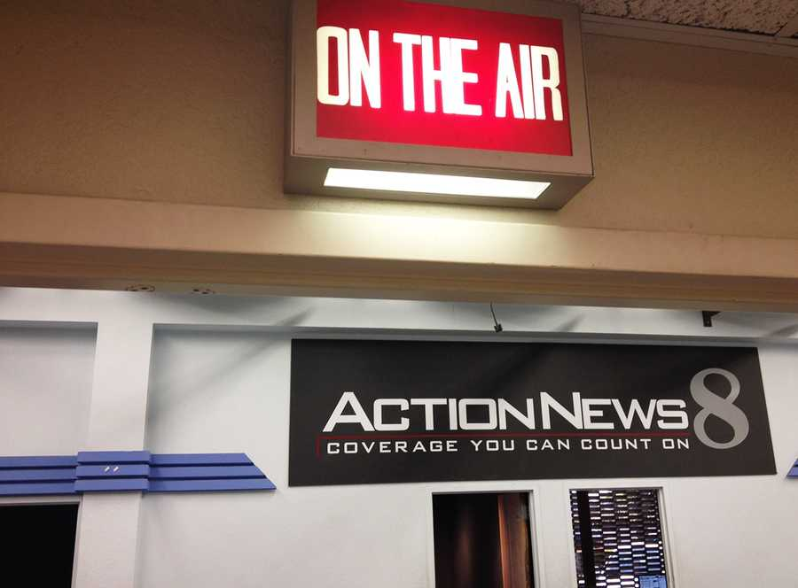 You are now entering the newsroom.