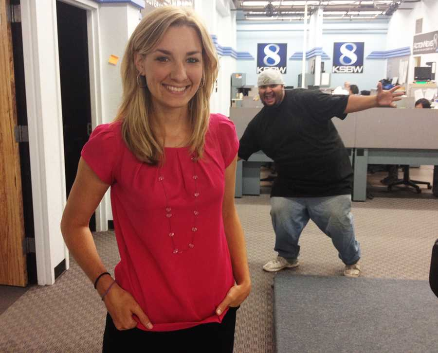Everyone knows weekend anchor Brittany Nielsen! Less people know Jimmy Celaya, Brittany's go-to KSBW cameraman and photographer.