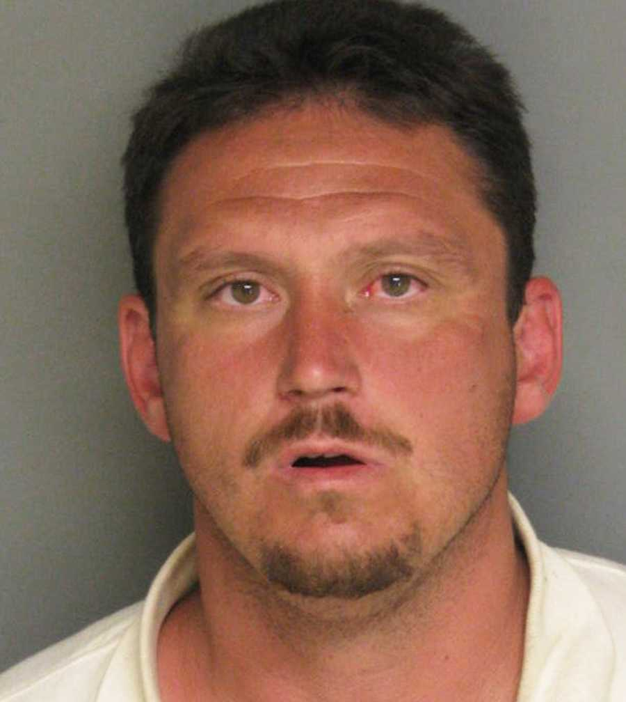 Brandon West, 34, of Watsonville, robbed a Rabobank in Castroville on Aug. 10, police said. He was arrested soon after.