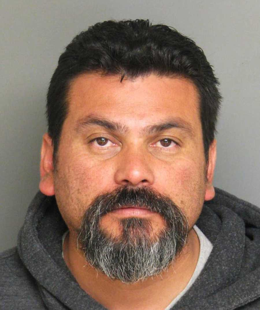 """Cesar Virgen, 42, of Salinas,made death threats against his ex-wife and her new boyfriend on Aug. 15, police said.""""The victim stated that her ex-husband has been calling her and making death threats toward her and her new boyfriend. Virgen also made threats that he would kill anyone who gets in his way,"""" police said.Virgen told his wife that he planned to kill her and her boyfriend and would escape from law enforcement by fleeing the country, police said."""