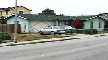 This is one of the homes where the dead kittens were found in Seaside.