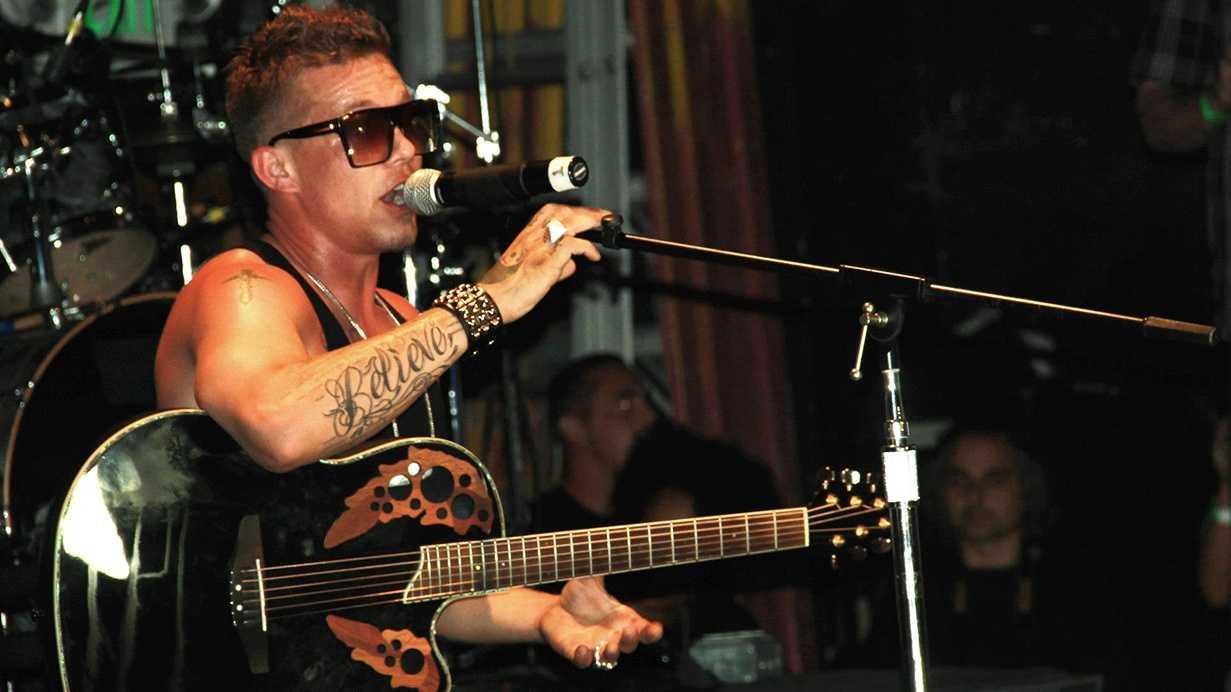 Chris Rene performs at the Catalyst in Santa Cruz. (Aug. 25, 2012)