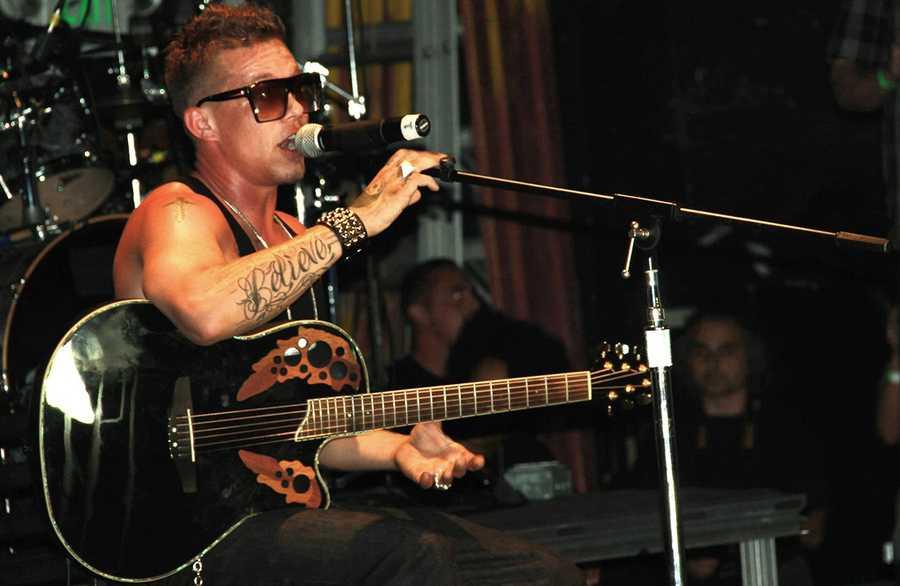 Singer-songwriter Chris Rene performed at the Catalyst in his hometown of Santa Cruz on Aug. 25, 2012.