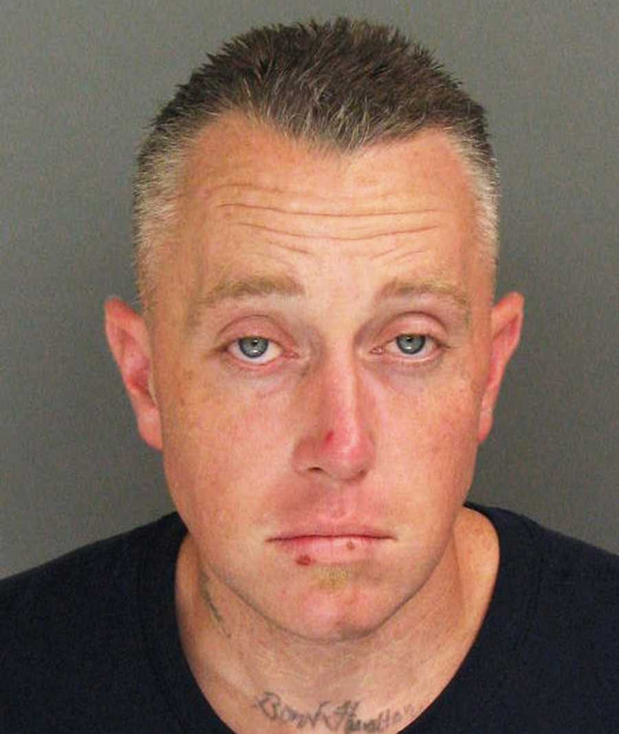 Robert Clamon, of Marina, was arrested on Aug. 24 in Santa Cruz after police said they found him dismantling a stolen car.