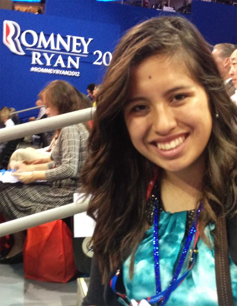 North Monterey County High School graduate Priscilla Mora, 17, is at the Republican National Convention in Florida. Here are photographs she snapped of her experience so far!