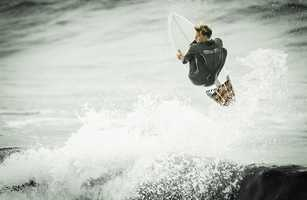 Craft knows Steamer Lane well from competing in the O'Neill Cold Water Classic surf competition.
