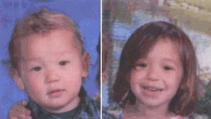 Devin Maffei, 2 (left) and Brooklynn Maffei, 3 (right) returned safe to mother