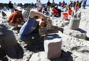 The 52-Annual Great Sandcastle Contest happened at Carmel Beach on Sept. 9. More than 30 students from Carmel River Elementary School students were among the groups competing at the sandy affair.
