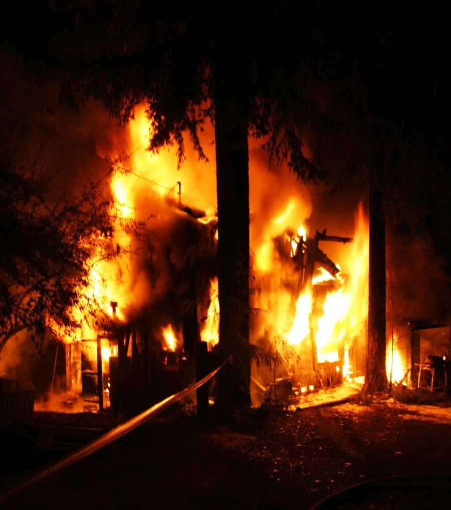 A boy was playing with a lighter inside his home in northern Santa Cruz County when he accidentally ignited a blaze that destroyed the house on Sept. 13, 2012, firefighters said.