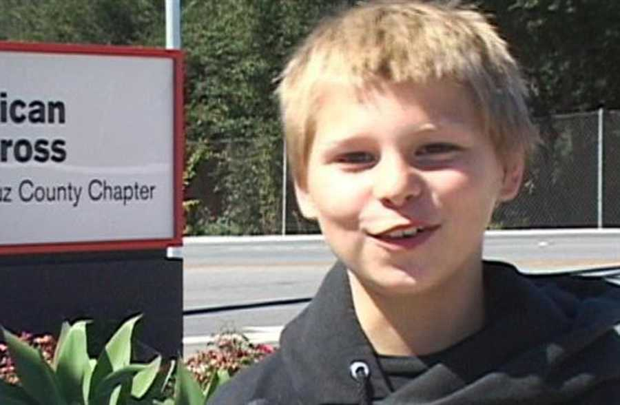 The 10-year-old boy was in an upstairs bedroom when he accidentally lit a bed on fire Thursday night, Boulder Creek Fire Chief Kevin McClich said.