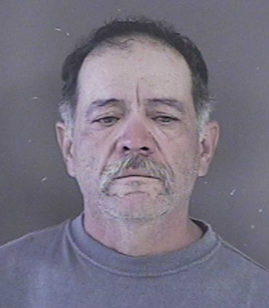 Raul Barajas, 52, drove to the Hollister police station while high on drugs to report a crime, police said. He was arrested on Sept. 24 in the police station's parking lot on suspicion of DUI and driving with a suspended license.