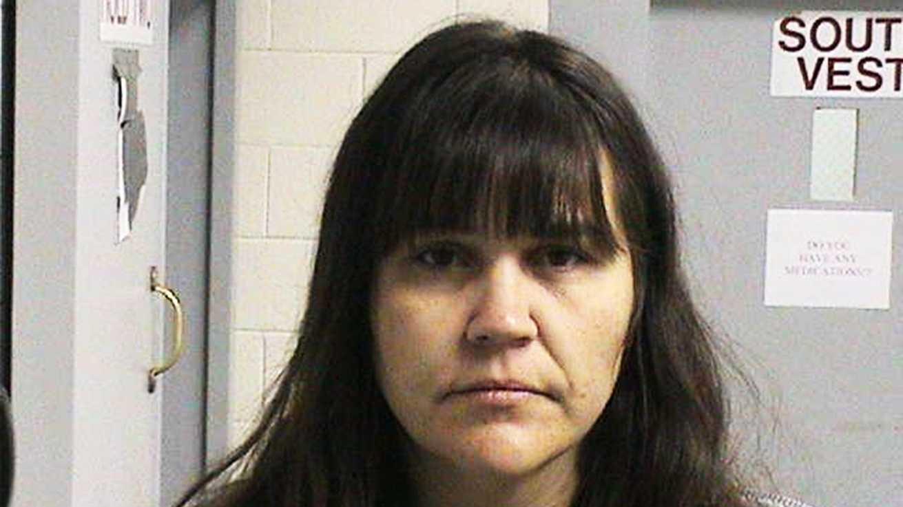 Marcy Keelin, 38, is seen in a jail mug shot.