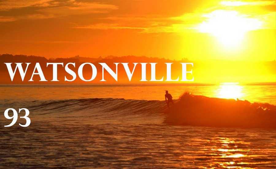 Watsonville hit 93 degrees at 3 p.m.