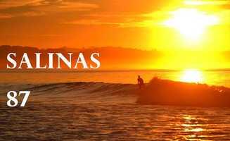 Salinas hit 87 degrees at 3 p.m.