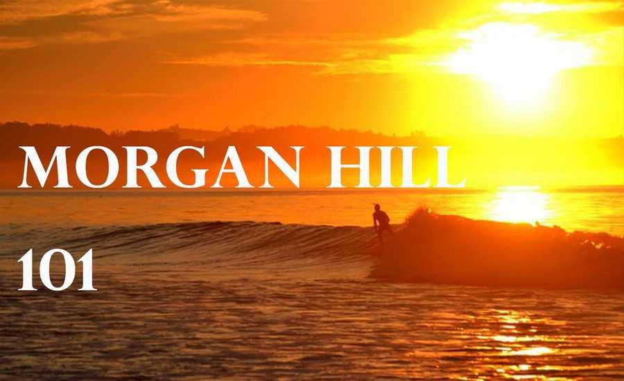 Morgan Hill hit 101 degrees at 3 p.m.