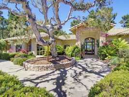 Take a tour of this $3.9 million mansion with five bedrooms, six bathrooms located in Monterey featured on realtor.com