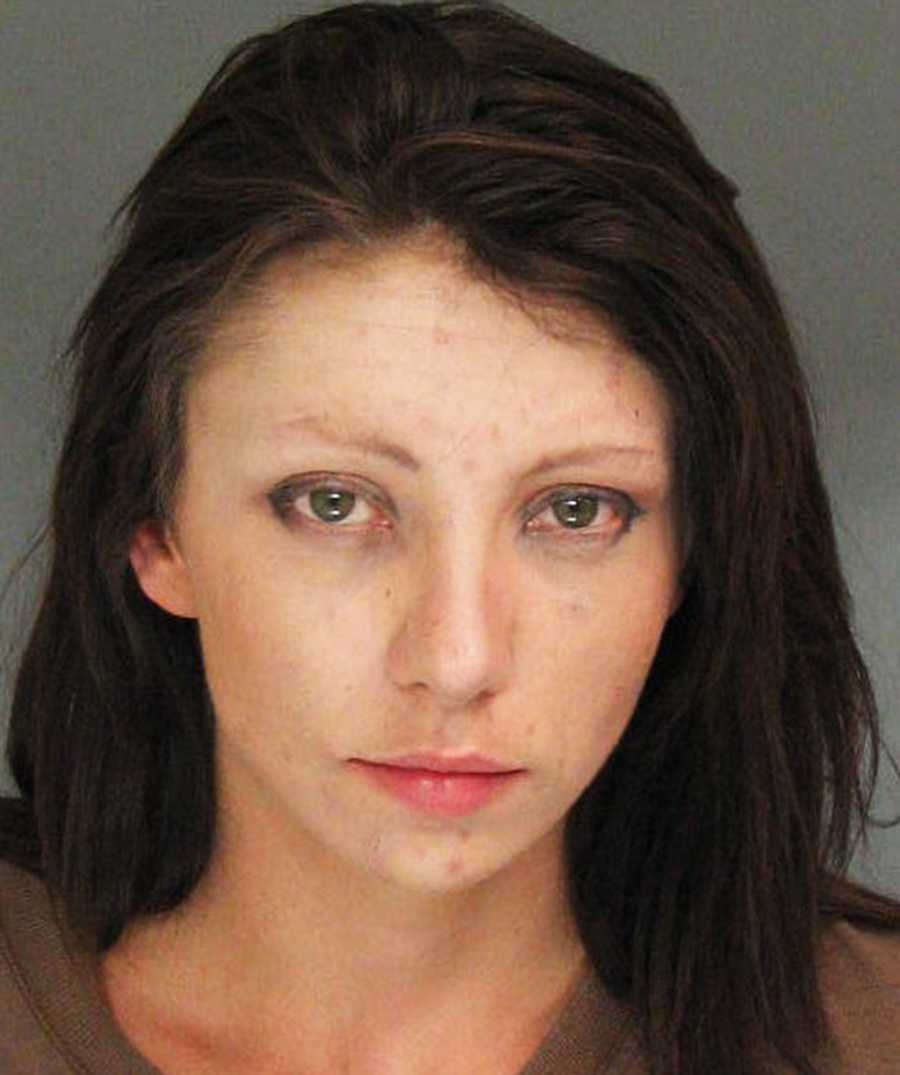 Tabitha Wilkerson, 25, of Los Gatos, was arrested by Santa Cruz County Sheriff's deputies on Oct. 4 at 9:30 a.m. for being under the influence of narcotics and possessing a sawed off shotgun and rifle, Sgt. Steve Carney said.