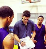 DECEMBER 23, 2012The Santa Cruz Warriors' first home game of the 2012-2013 season will happen on Dec. 23. Santa Cruz Warriors Assistant Coach Casey Hill is seen here.