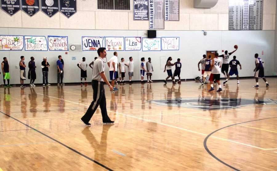 Santa Cruz Warriors Assistant Coach Casey Hill