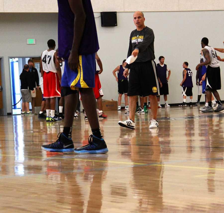 Santa Cruz Warriors Head CoachNate Bjorkgren