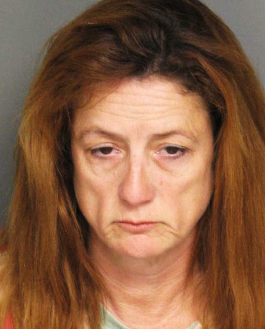 Kimberly Dvorak, 47, of Salinas, ran out of a Rite Aid on Williams Road in Salinas after she stole cosmetics on Oct 14, police said. She fought with a shopping center security guard until she was arrested.