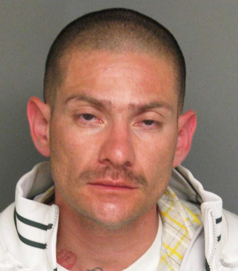 Michael Martinez, 36, hit a pedestrian and several parked cars while driving in Salinas on Oct. 15, police said. He fled on foot but witnesses chased after him and Martinez was arrested soon after.