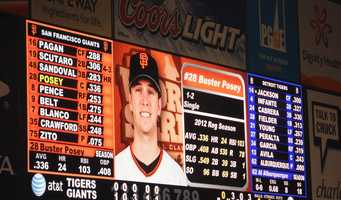 Many San Francisco Giants fans are hoping Buster Posey will be voted the 2012 MVP.