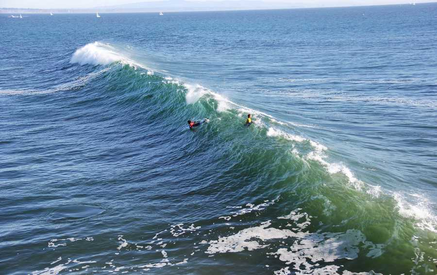 One of the biggest challenges in professional surfing is choosing which wave to catch. If you wait too long, your heat's time will run out. If you are notchoosyenough, you will miss catching a bigger waves that you can execute more aerials and turns on.