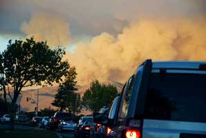The quickened extinguishing effort created a lot of white smoke, which was seen by residents on all corners of the Central Coast and alarmed many witnesses.These smoke clouds were seen from San Juan Grade Road.