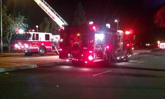 A fire broke out at a medical complex in Hollister early Wednesday morning.
