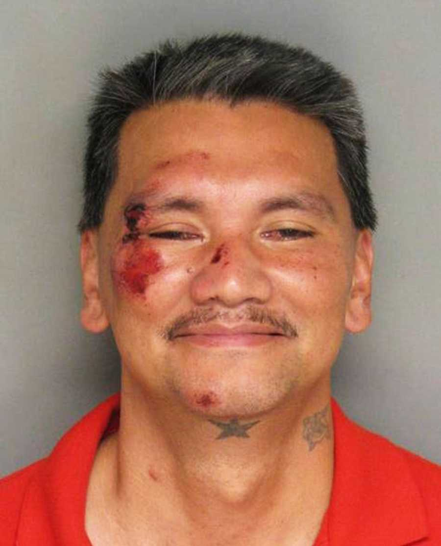 On Nov. 19, Vincente Vallente, 43, of Salinas, refused police officers' orders to drop his knife on Soledad Street in Salinas so officers said they shot him with a Taser. He was booked into jail on charges of assault with a deadly weapon and resisting arrest.