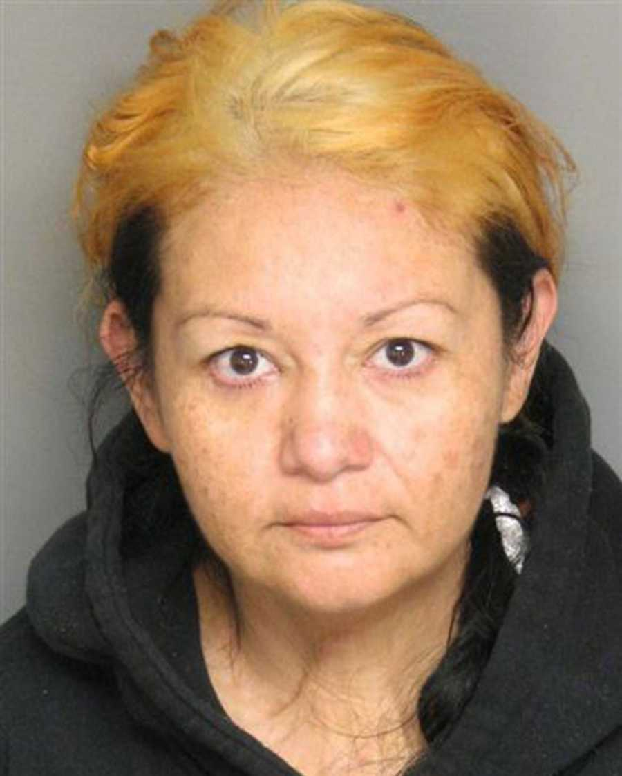 Alicia Lopez, 39, of King City, was arrested on Nov. 25 after deputies said they found 130 forged DMVregistrationtabs andmethamphetaminein her car.