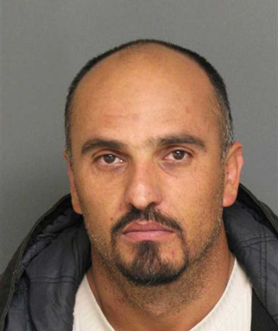 Arnoldo Guerrero, 37, of King City, was arrested on Nov. 25 after deputies said they found 130 forged DMVregistrationtabs andmethamphetaminein her car.
