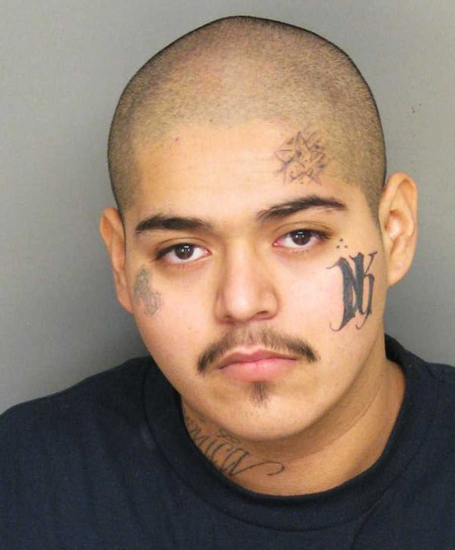 Cesar Gomar, 18, of Salinas, got into a low speed pursuit through Salinas on Sanborn Road on Nov. 27. He is a known gang member and police said he was carrying a gun when they searched him.