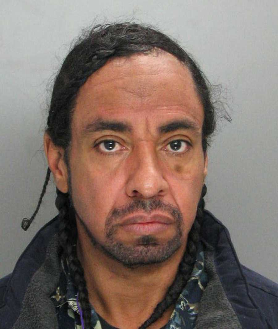"""Daniel Johnson, 51, was exposing himself to strangers at an MST Transit Center at 110 Salinas Street on Dec. 12, police said. Johnson became agitated and threatened employees and bystanders at 9:45 a.m.""""Johnson refused to obey their commands and became combative as officers attempted to place him in custody. After a brief struggle he was taken into custody,"""" officer Miguel Cabrera said."""
