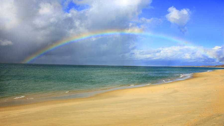 #12: Somewhere over the rainbowUlocal user jnita took this photo while at Del Monte Beach in Monterey.