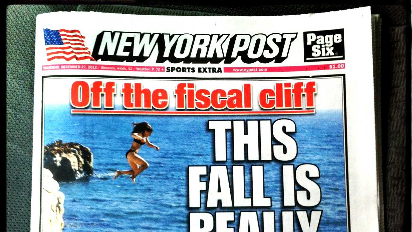 Santa Cruz is on the cover of Thursday's New York Post.