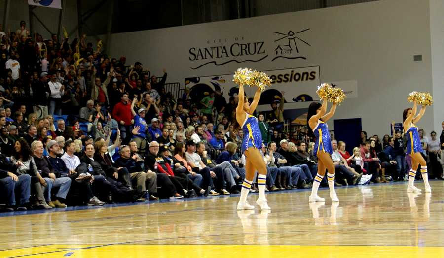 Jan. 1, 2013 Game: On Tuesday, a nearly sold-out crowd packed Kaiser Permanente Arena and its energetic cheering lasted from tip-off until the game clock timed out.Read the story here