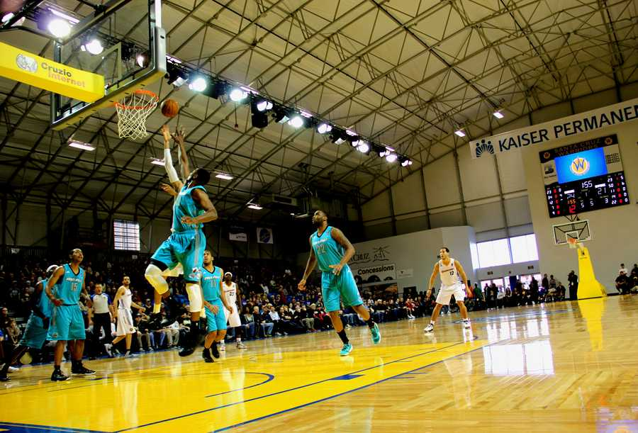 Jan. 1, 2013 Game:The Santa Cruz Warriors have been unbeatable while playing in their new town with a 4-0 winning record on their home court in the 2012-2013 season.Read the story here