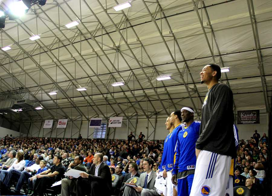 Jan. 1, 2013 Game: The Santa Cruz Warriors' overall record this season is 10-2. Their next game is on the road against the Fort Wayne Mad Ants at 4 p.m. Thursday.Read the story here