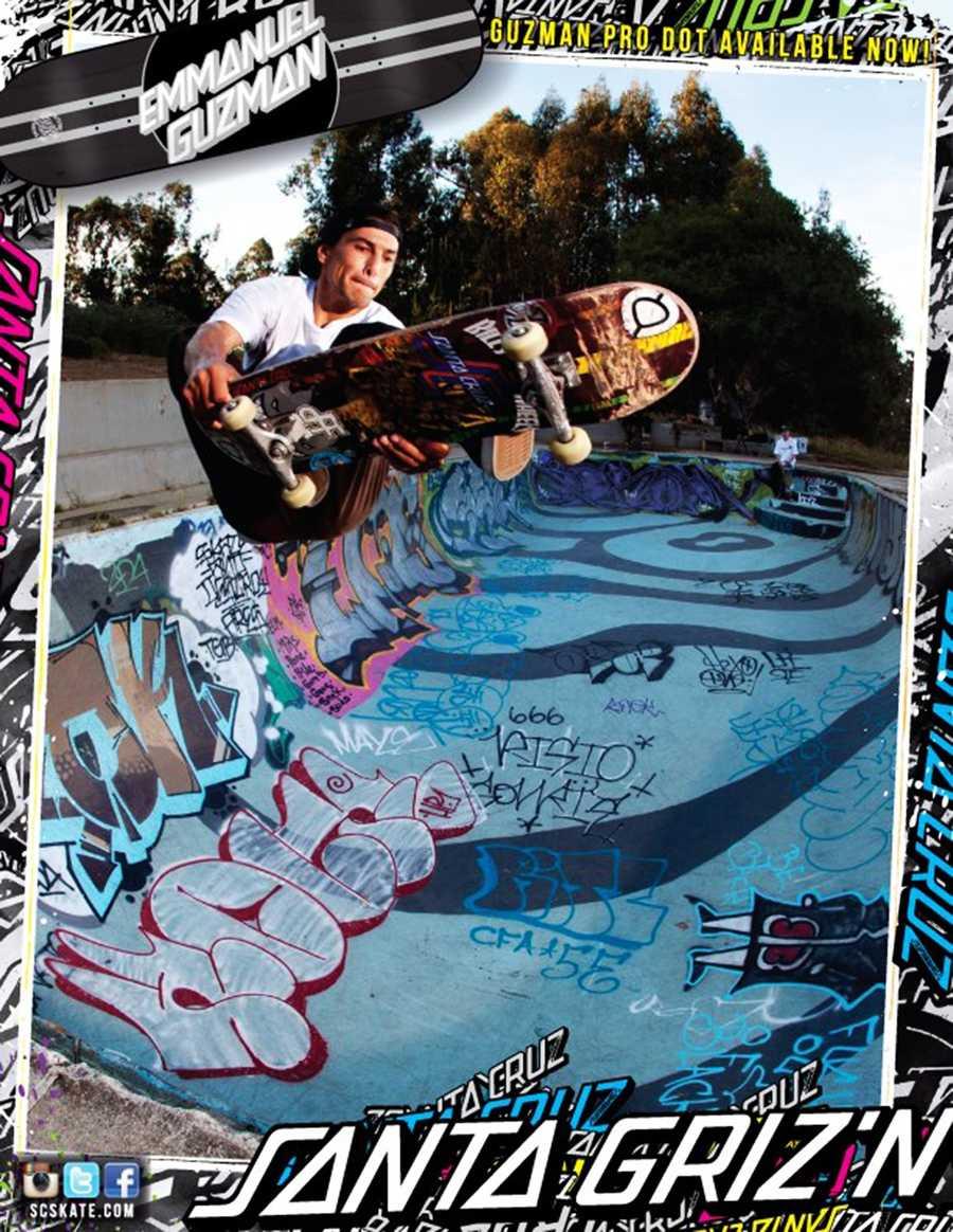Skater Emmanuel Guzman