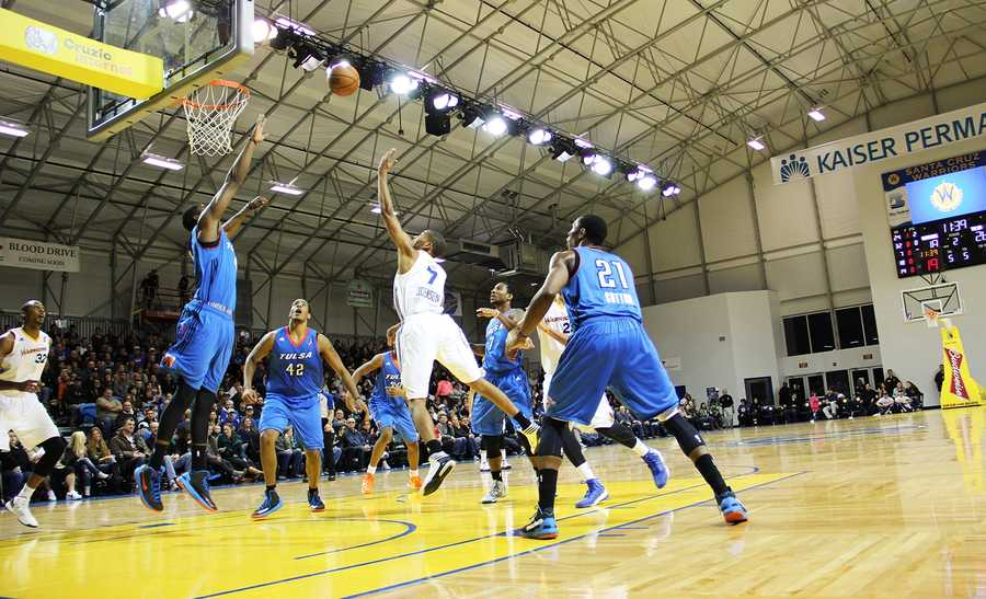 The Warriors won again on Jan. 13, 2013, defeating the Tulsa 66ers 92-80 inside Kaiser Permanente Arena.