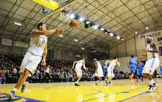 The Santa Cruz Warriors are the Golden State Warriors' Development League team. They are the first professional sports team to ever exist in Santa Cruz.