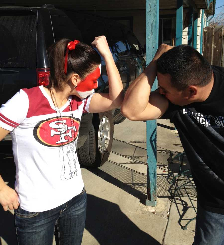 Two San Francisco 49er football fans in Greenfield are ready for the Super Bowl.