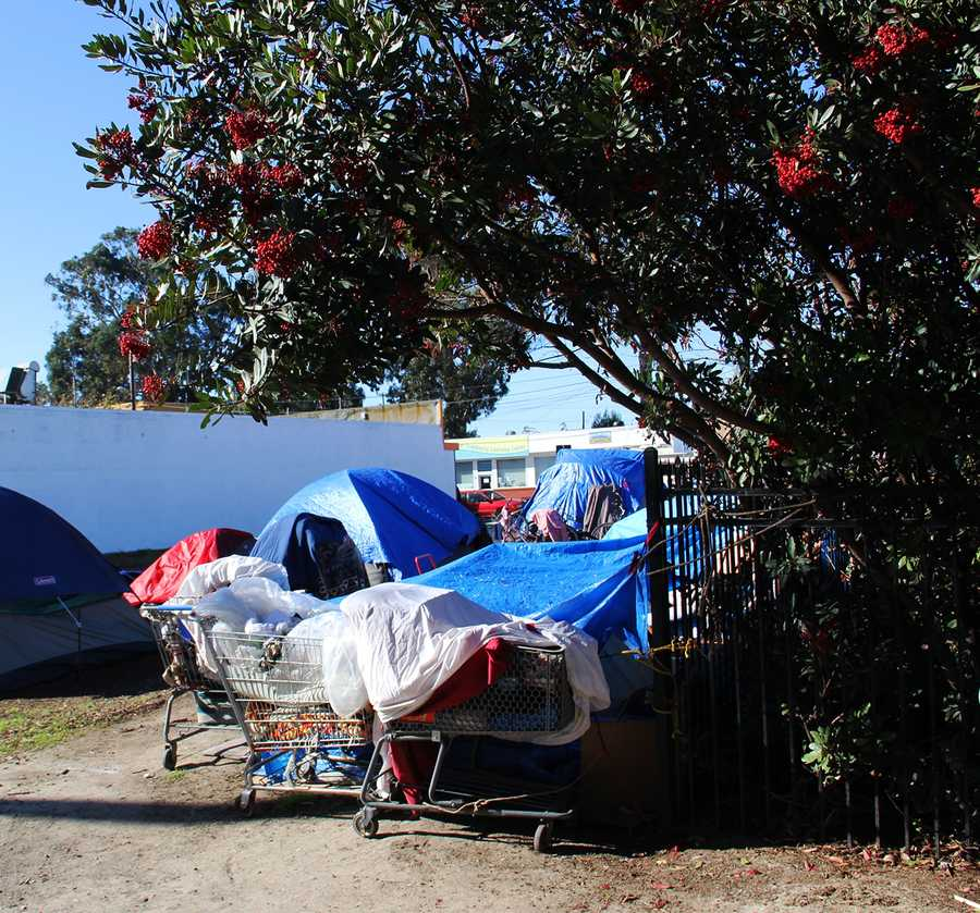 Sweeps are conducted three times a year in Salinas' version of Skid Row because, according to city officials, homeless residents create a public health hazard.