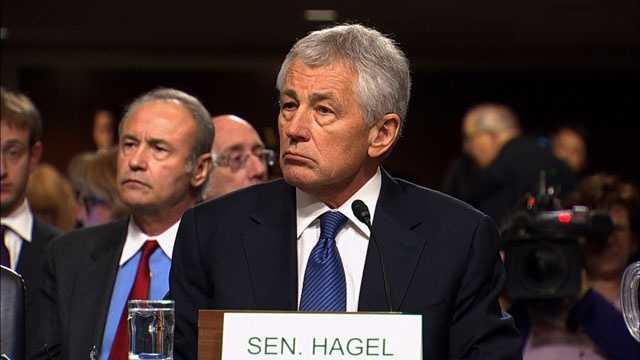 Hagel nomination hearing